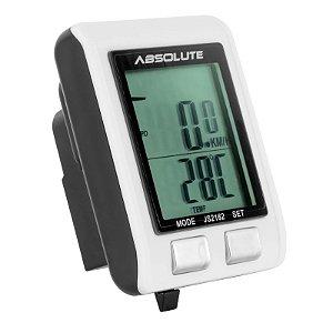 Ciclocomputador Absolute IriX 13 JS-2162 Com Monitor Cardiaco Sem Fio (Wireless) 13 Funções com Luz Noturna