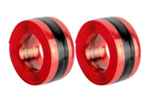 Fita Anti-furo Safe Tire para Bicicletas MTB Aro 26 - 31mm x 2,1mts (Par) Vermelha