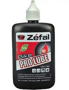 Óleo Lubrificante Zéfal Pro Bio Lube Todas as Condições para Bicicletas Frasco 125ml