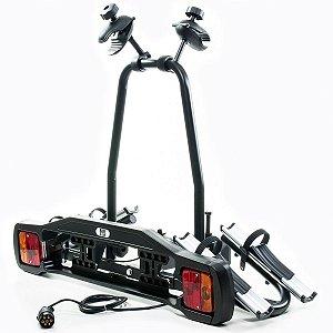 Rack de engate Bike InCar para 2 Bike Placa de Sinalização