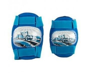 Joelheira e Cotoveleira Infantil KidZamo KZ-011 Azul