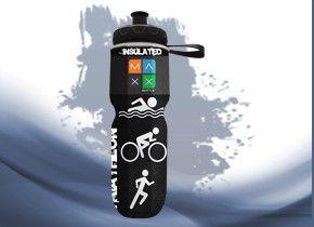 Garrafa Térmica Maxx Bottle Sport Triathlon 700ml Preto