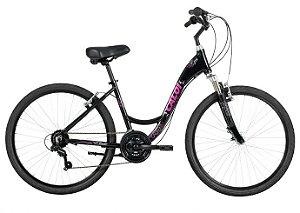 Bicicleta Caloi Ceci 26 Shimano 21Vel Preto