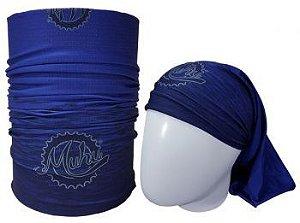 Bandana Tubular Muhu Solid Color Blue 7051