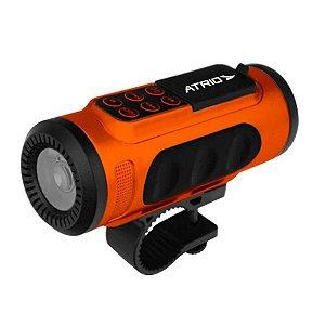 Caixa de Som e Farol Atrio Speaker BI085 Bluetooth Radio FM MP3 e WMA Potencia 3W RMS 75 Lumens