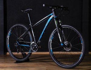 Bicicleta Oggi Big Wheel 7.0 MTB 29er Shimano 27Vel Disco Hidraulico Preto Azul 2019