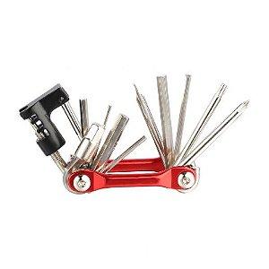 Canivete Multi Ferramenta CLY com 11 Funções
