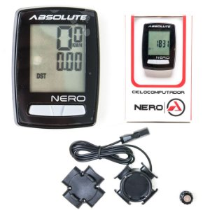 Ciclocomputador Absolute Nero Com Fio 10 Funções