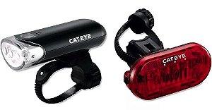 Kit Farol Cateye Hl-el135 E Vista Light Cateye Ld135r Omni3