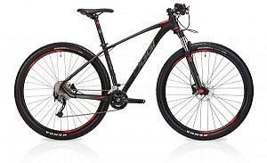Bicicleta Oggi Big Wheel 7.2 MTB 29er Shimano Alivio 18vel Preto Vermelho