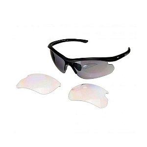 Óculos Shimano Solstice CE-SLTC1 MR Armação Prato Fosco com 2 lentes