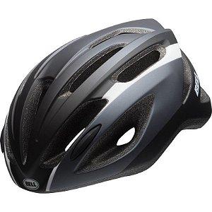 Capacete Bell Crest R De Ciclismo Mtb Lazer Urbano Preto Titanio Tam U