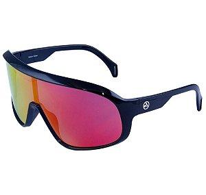 Óculos Esportivo de Sol Absolute Nero Preto Lente Vermelho Polarizado