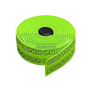 Fita de Guidão PRO (shimano) Sport Control Team EVA Verde logo pro Speed Road