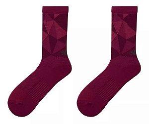 MEIA DE CICLISMO SHIMANO ORIGINAL Tail Socks CANO LONGO Roxo TAM 45-48