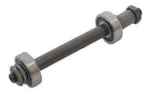 Eixo Furado para blocagem Traseiro para Cubo de Rolamento 140x77mm