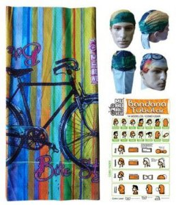 BANDANA TUBULAR MUHU BIKE RETRO 7005