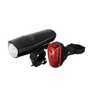 Kit de Iluminação Absolute JY-577-1 + 6001T pilha Dianteiro e Traseiro