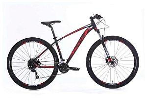 Bicicleta Oggi Big Wheel 7.0 29er Shimano 18 Vel Preto Vermelho 2020 Tam 17