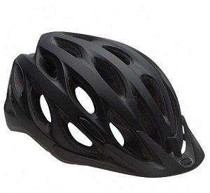 Capacete Bell Para Ciclismo Tracker Preto Tam U