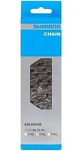 Kit corrente HG40 e cassete hg 31 11-32 8 vel