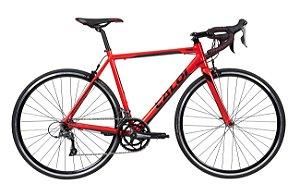 Bicicleta Caloi Strada Claris A20 Vermelha tam M 54