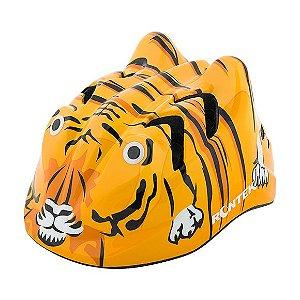 Capacete infantil Rontek BCP-064 Tigre Laranja Tam P48-52