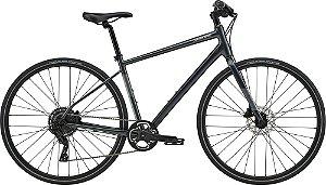 Bicicleta Cannondale Quick Disc 4 Cinza Tam M