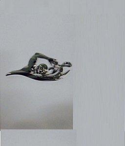 Adesivo para Carro Ictus Natacao Cromado Emblema
