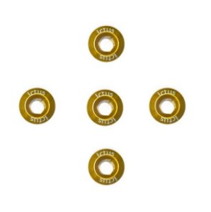 Parafuso de Coroa Ictus Kit com 5 parafusos Dourado