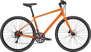Bicicleta Cannondale Quick Disc 2 Laranja Tam S Ano 21