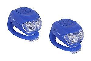 Kit de Iluminação Rontek de Silicone BLT-016 2 Leds Azul