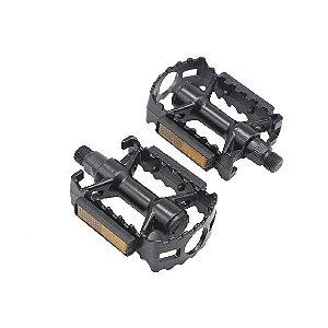 Pedal Aluminio Rontek BPED-022 Rosca Grossa 9/16