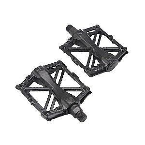 Pedal Aluminio Rontek BPED-032 Plataforma Rosca Grossa 9/16