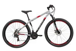 Bicicleta Caloi Supra 29 Aro 29 21 V Disco Prata Tam 17