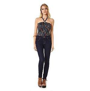 Calça Jeans Zinco Skinny Regular Amaciada tradicional