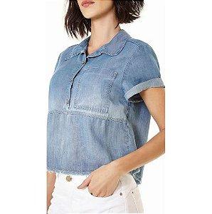 Camisa Zinco Jeans Recortes