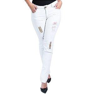 Calça Jeans Morena Rosa Isabelli Cós Intermediário Fusionado Term