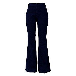 Calça Jeans Maria Valentina M. Victória Botão Encapado