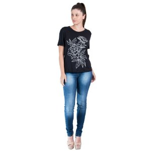 T-Shirt Leboh Decote Redondo Lisa Silk