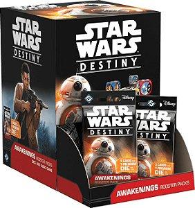 Star Wars Destiny - Pacotes de Expansão - Despertares - BOX