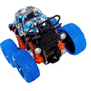 Carrinho Monster Truck Carro Gira 360 Graus Lançando Inércia