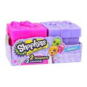 Shopkins Super Festa - Série 7 - 2 Shopkins + 2 Caixinhas - DTC
