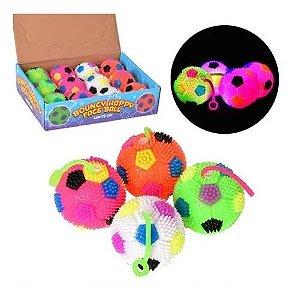 Squish Fidget Toy Bola Estica Luz Som Brinquedo Criança