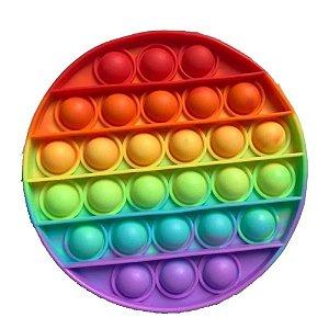 Pop It Fidget Toys Brinquedo Anti Stress Sensorial Colorido