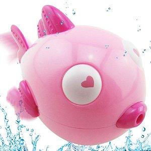 Brinquedos Infantis De Banho Peixinho   / Peixinho Para Bebês / Brinquedos De Banho / Brincar Na Água Rosa