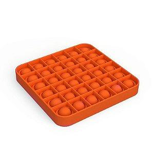 Pop It Fidget Toys Brinquedo Anti Stress Original Laranja