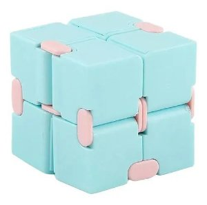 Cubo Magico Infinito Dobrável Infinity Cube Anti Stress Top  Stress Fidget