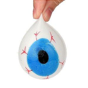 Squishy em formato de  olho brinquedo de apertar anti estresse / gruda na parede e no teto  Fidget toy