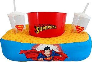Almofada Porta Pipoca Superman Zonacriativa